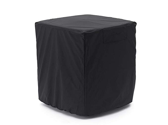 CoverMates – Air Conditioner Cover – 24W x 24D x 22H – Ultima Collection – 7 YR Warranty – Year Around Protection - Black