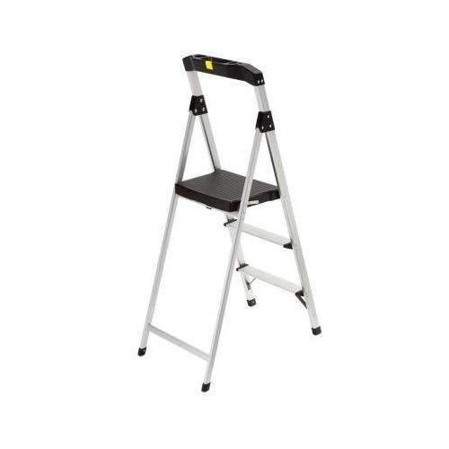 Gorilla Ladders 3-Step Aluminum Step Stool Ladder with 225 lb. Type II Duty Rating by Gorilla Ladders