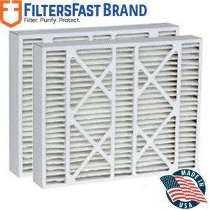 FiltersFast Compatible Replacement for Coleman M1-1056 MERV 11 Air Filter 2-Pack 16