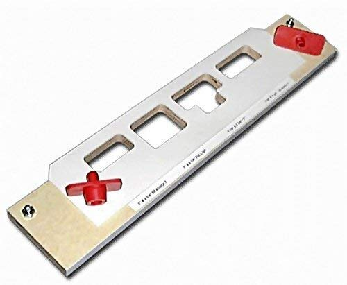 Templaco MS-400 Multi-Strike Template - 16 Carrier w/ 2 Deadbolt, 1 Full Lip and 1 T Pocket by Templaco