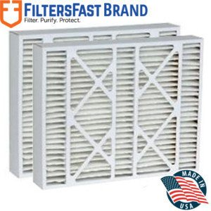 FiltersFast Compatible Replacement for Payne P102-1620 MERV 11 Air Filter 2-Pack-16x22x5 (Actual Size: 15-3/8