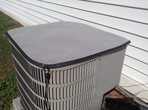 Air Conditioner Cover - New Gray PREMIER Waterproof Top Cover- 32x32