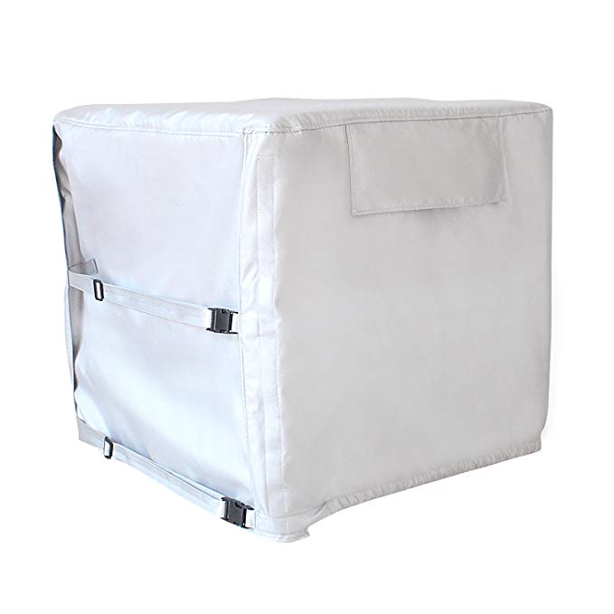 [Mr.You] Outdoor Air Conditioner Cover Waterproof Cleaning Cover Anti-Dust Home Cleaning Tool (Thick and Brushed)