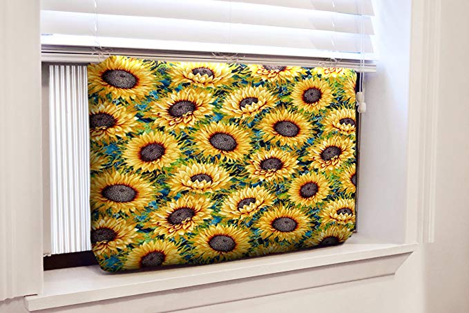 Gerrard Larriett Aromatherapy Pet Care Premium Quilted Indoor Air Conditioner Covers for Window Units 24