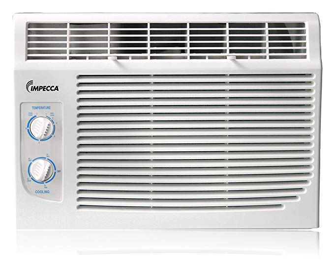 Impecca IWA05-KM15 5,000 BTU/h Mechanical Controlled Mini Window Air Conditioner