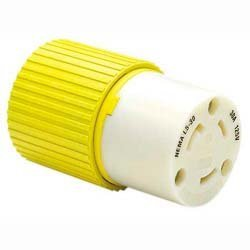 Hubbell HBL305CRC 30A 125V Female Connector by Hubbell