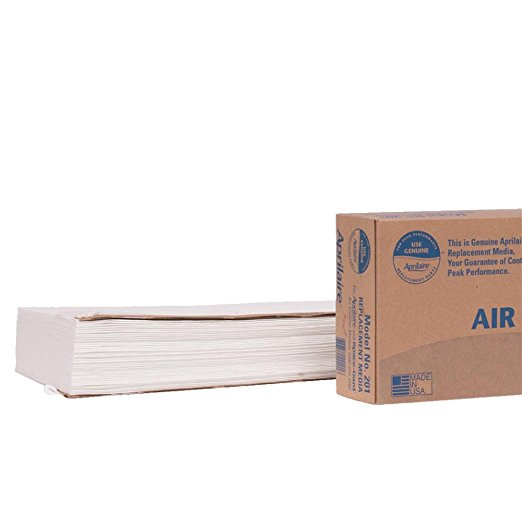 Aprilaire 201 Air Filter for Air Purifier Models, 2200 and 2250, 2 Count
