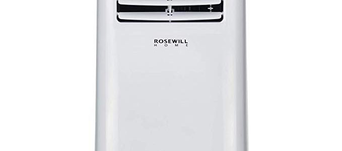 Rosewill Portable Air Conditioner 8000 BTU, AC Fan & Dehumidifier 3-in-1 Cool/Fan/Dehumidify w/Remote Control, Quiet Energy Efficient Self Evaporation AC Unit for Single Room Use, RHPA-18001 Review