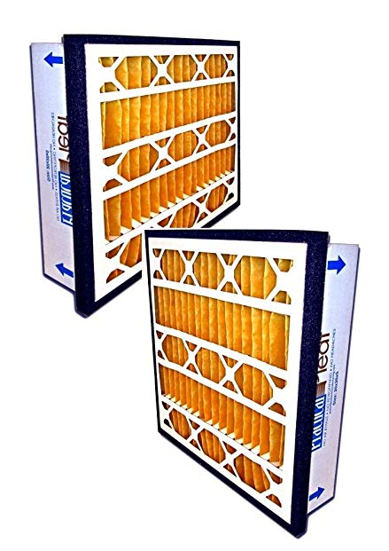 Filtration Manufacturing Practical Pleated Air Filter (2-Pack) - 20