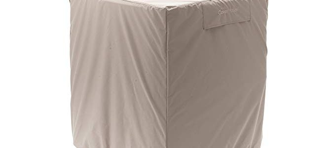 CoverMates – Air Conditioner Cover – 34W x 46D x 34H – Ultima Collection – 7 YR Warranty – Year Around Protection – Tan Review
